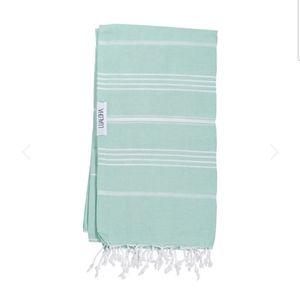 Brand New Mint Green Luxury Turkish Towel or Wrap